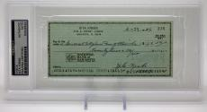 "Nita Krebs Signed Cancelled Check ""wizard Of Oz"" Psa/dna Encapsulated 83508562"