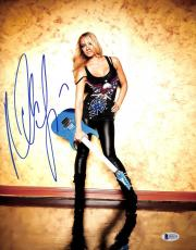 Nita Strauss Signed 11x14 Photo BAS Beckett COA Alice Cooper Guitar Autograph 5