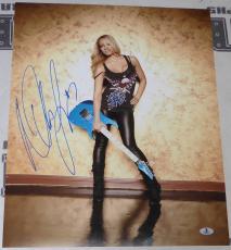 Nita Strauss Signed 16x20 Photo BAS Beckett COA Alice Cooper Guitar Autograph 5