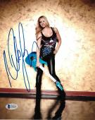 Nita Strauss Signed 8x10 Photo BAS Beckett COA Alice Cooper Guitar Autograph 13