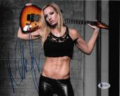 Nita Strauss Signed 8x10 Photo BAS Beckett COA Alice Cooper Guitar Autograph 6
