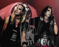 Nita Strauss Signed 8x10 Photo Picture Alice Cooper Band Guitar Shred Autograph