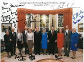 U.S. Presidents/Wives (Bush+) Signed Autographed 7x9-3/4 Photo PSA/DNA #AB10417