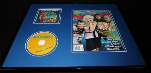 No Doubt 16x20 Framed ORIGINAL 2004 Entertainment Weekly Cover & CD Display