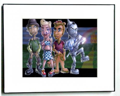 No Doubt Autographed Tom Dumont Signed Wizard of Oz Photo   AFTA AFTAL