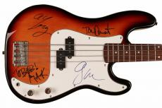 No Doubt Band w/ Gwen Stefani Signed Bass Guitar - FULL JSA LOA (4 Sigs)