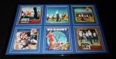 No Doubt Framed 12x18 Tragic Kingdom CD & Photo Display