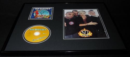 No Doubt Group Signed Framed 16x20 Tragic Kingdom CD & Photo Display JSA