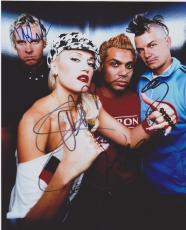 No Doubt Signed 8x10 Photo All 4 Members Gwen Stefani