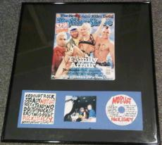 No Doubt Signed Rolling Stone Framed Matted Exact Proof