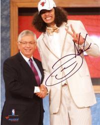 "Joakim Noah Chicago Bulls Autographed 8"" x 10"" Draft Night Photo Photograph"