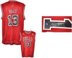 Noah, Joakim Auto (bulls)(red/adidas/replica) Jersey