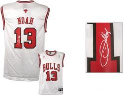 Noah, Joakim Auto (bulls)(white/adidas/replica)jersey