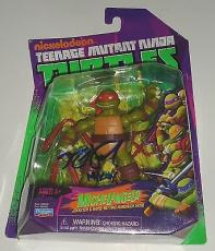 NOEL FISHER signed *Teenage Mutant Ninja Turtles* Michelangelo toy figure W/COA