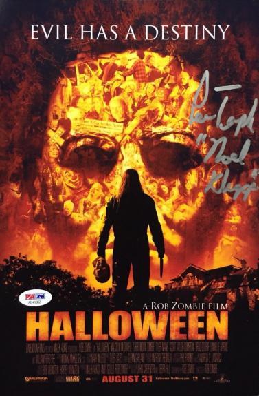 Noel Kluggs Signed Rob Zombie's Halloween 8x12 Photo *Lew Temple PSA AD41062
