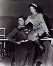 NOEL NEILL HAND SIGNED 8x10 PHOTO+COA           ORIGINAL LOIS LANE WITH SUPERMAN