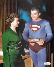 Noel Neill Lois Lane Superman signed 8x10 color photo auto autograph JSA COA