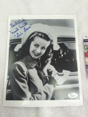"Noel Neill ""Louis Lane"" 1950's Superman Series Star Signed and Inscribed 8×10 Photo JSA"