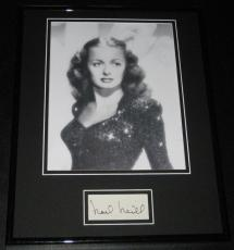 Noel Neill Signed Framed 11x14 Photo Display Superman Lois Lane
