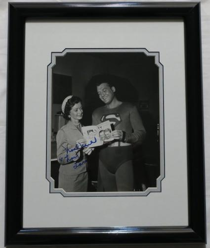 Noel Neill Signed Superman Authentic Autographed 8x10 Photo Framed JSA #T21179