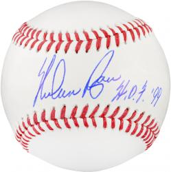 "Nolan Ryan Texas Rangers Autographed Baseball with ""HOF 99"" Inscription"