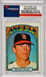 Nolan Ryan California Angels 1972 Topps #595 Card 2