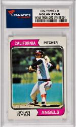 Nolan Ryan California Angels 1974 Topps #20 Card
