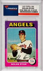 Nolan Ryan California Angels 1975 Topps #500 Card