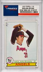 Nolan Ryan California Angels 1979 Topps #115 Card