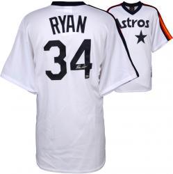 Nolan Ryan Houston Astros Autographed Majestic Replica Jersey