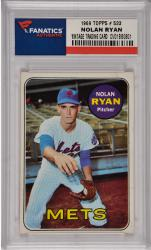 Nolan Ryan New York Mets 1969 Topps #533 Card