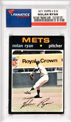 Nolan Ryan New York Mets 1971 Topps #513 Card