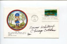 Norma Whitney AAGPBL Chicago Colleens South Bend Blue Sox Signed Autograph FDC