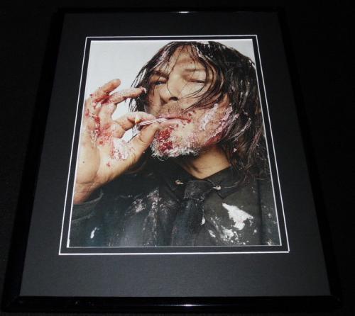 Norman Reedus 2017 Framed 11x14 Photo Display Walking Dead