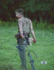 "Norman Reedus Autographed 8"" x 10"" Dragging Weapon Photograph - Beckett COA"