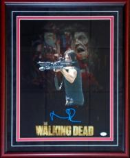 Norman Reedus Autographed The Walking Dead 16x20 Photo (JSA)