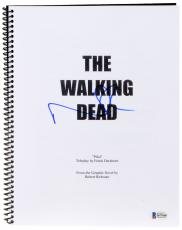 Norman Reedus Autographed The Walking Dead Replica Script - Beckett COA