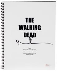 Norman Reedus Autographed The Walking Dead Replica Script - JSA COA