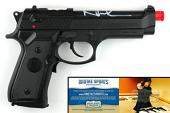 Norman Reedus Autographed/Signed The Boondock Saints Airsoft Replica Black Beretta Pistol