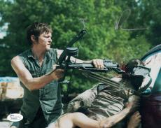 Norman Reedus Autographed/signed The Walking Dead 8x10 Photo 16936 Jsa