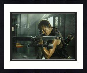 Norman Reedus Autographed/Signed Walking Dead 16x20 Photo Daryl Dixon JSA 16956