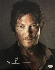 Norman Reedus Daryl Dixon Signed Autographed 11x14 Photo JSA Authentic 1