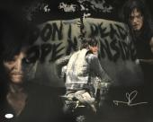Norman Reedus Daryl Dixon Signed Autographed 16x20 Photo JSA Authentic 4