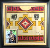 "Norman Reedus ""Daryl Dixon"" Signed Framed Officially Licensed The Walking Dead Poncho"