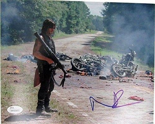 Norman Reedus Daryl Dixon The Walking Dead Auto/Signed 8x10 Photo JSA 129329