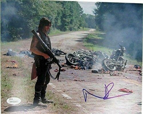 Norman Reedus Daryl Dixon The Walking Dead Auto/Signed 8x10 Photo JSA 129329