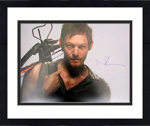 Norman Reedus Daryl Dixon Walking Dead Autographed/Signed 16x20 Photo JSA 129326