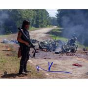 "Norman Reedus ""Daryl"" Signed Walking Dead 8x10 Photo"