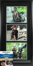 "Norman Reedus & Michael Rooker Autographed/Signed ""Merle & Daryl Dixon"" The Walking Dead Framed 8x10 Collage"