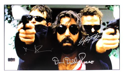 Norman Reedus, Sean Patrick Flanery & David Della Rocco Signed The Boondock Saints 11x17 Photo